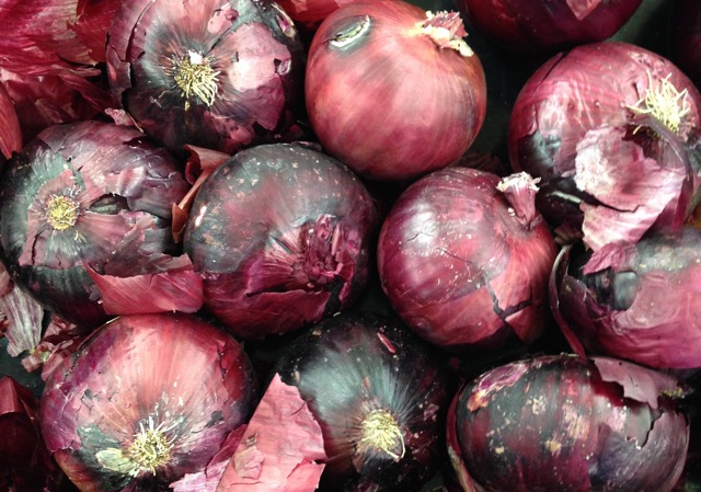 Red Onions myfavouritepastime.com