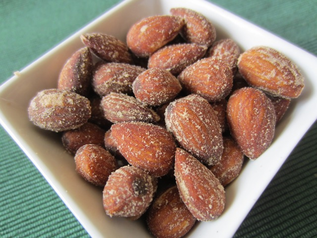 Hickory Smoked Almonds dry roasted and salted