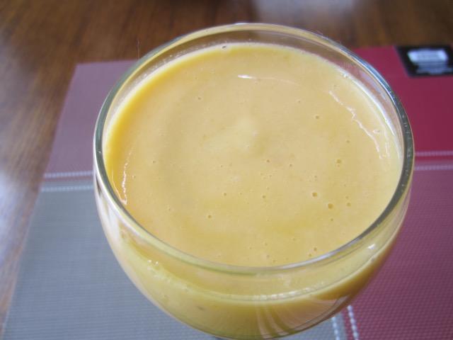 Mango Cantaloupe Orange Yoghurt Smoothie myfavouritepastime.com