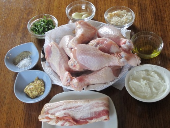 Chicken with Bacon and Ricotta Stuffing myfavouritepastime.com