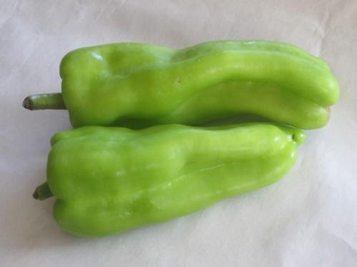 Cubanelle pepper (Capsicum annum L.) myfavouritepastime.com
