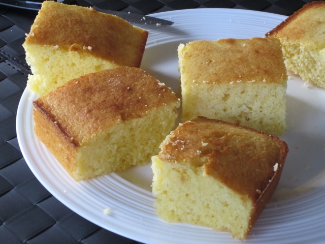 Sweet Cornbread with Buttermilk myfavouritepastime.com