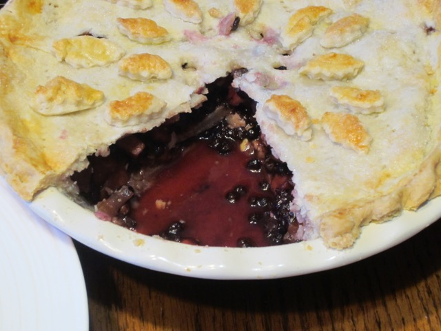 Apple Blueberry and Currant Pie myfavouritepastime.com