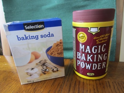 Baking Soda and Baking Powder myfavouritepastime.com