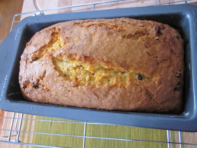 Carrot Coconut and Currant Bread myfavouritepastime.com