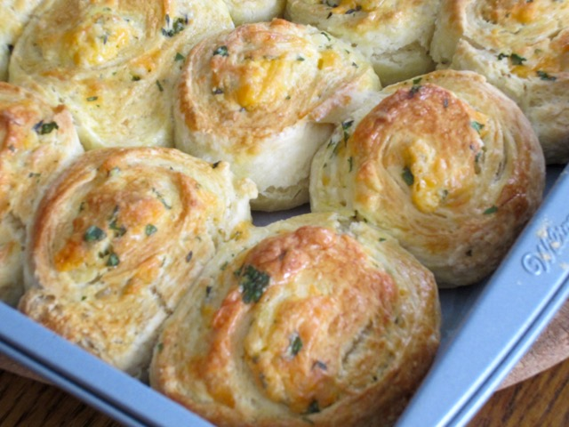 Cheese and Herb Rolls myfavouritepastime.com