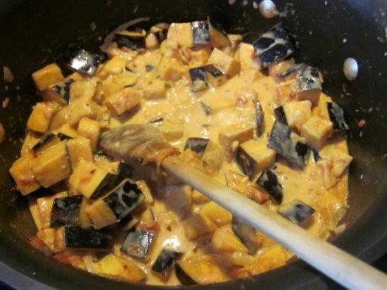 Spicy Eggplant with Coconut Milk myfavouritepastime.com
