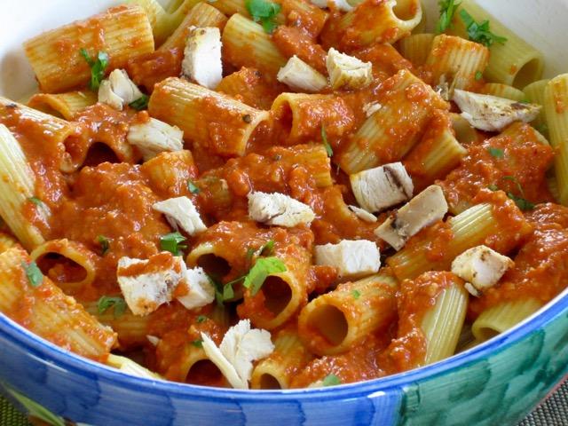 Catalonian Rigatoni Salad myfavouritepastime.com