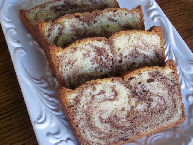 Chocolate Swirl Pound Cake myfavouritepastime.com