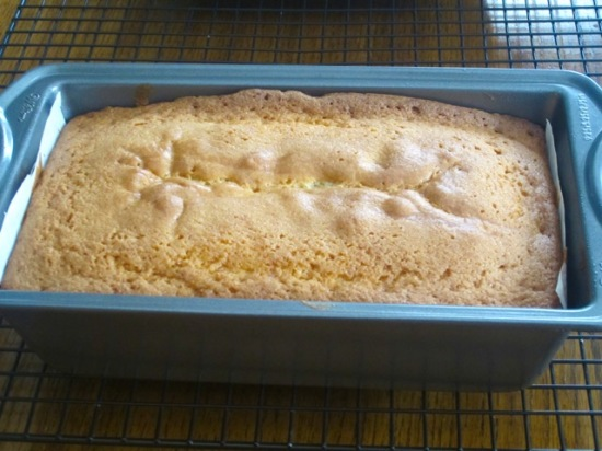 Pound Cake with Cherries myfavouritepastime.com