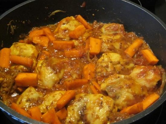 Spicy Mustard Chicken myfavouritepastime.com