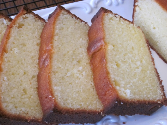 Traditional Pound Cake myfavouritepastime.com