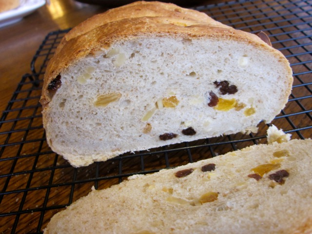 Almond and Sultana Bread myfavouritepastime.com