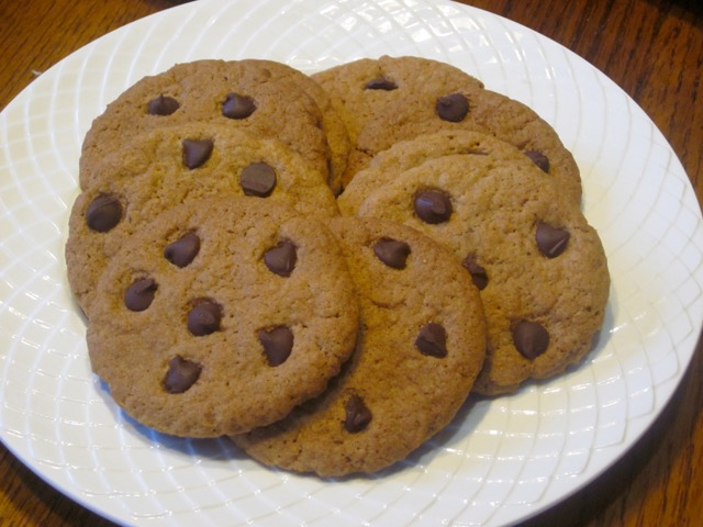 Chocolate Chip Gingernuts myfavouritepastime.com