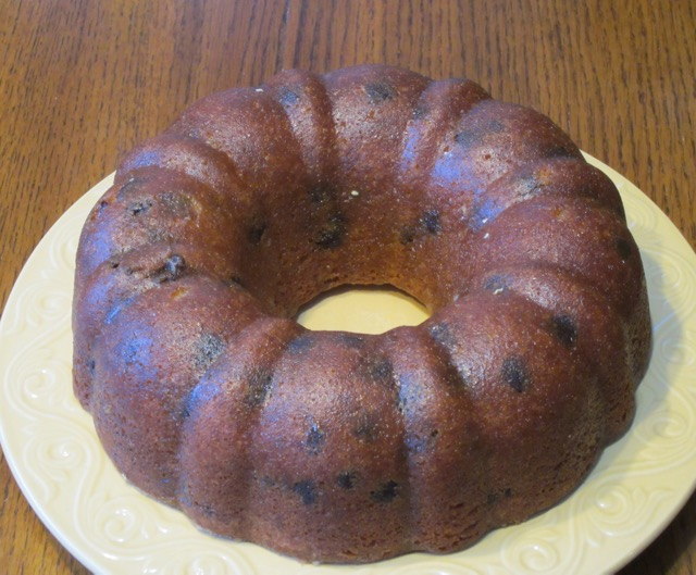 Chocolate Chip orange Cake myfavouritepastime.com