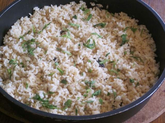 Coconut Scented Brown Rice myfavouritepastime.com