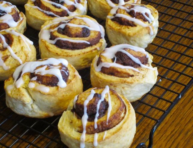 Easy Cinnamon Rolls myfavouritepastime.com