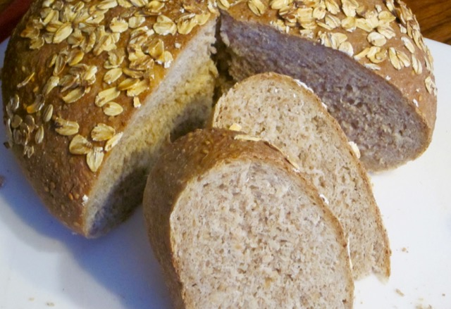 Sesame and Oatmeal Bread myfavouritepastime.com