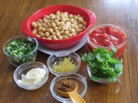 Spicy Chickpeas myfavouritepastime.com