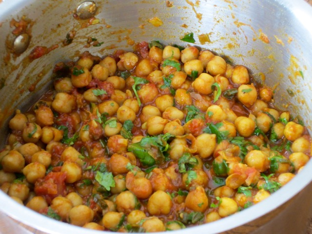 Spicy Chickpeas myfavouritepastime.com