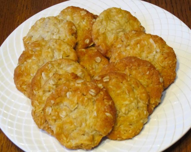 Anzac Biscuits myfavouritepastime.com