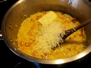 Add butter parmesan and adjust seasoning myfavouritepastime.com