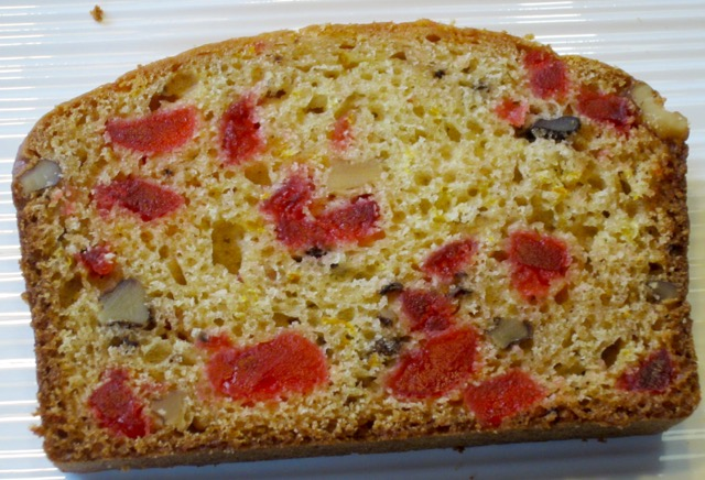 Cherry Orange and Walnut Loaf myfavouritepastime.com