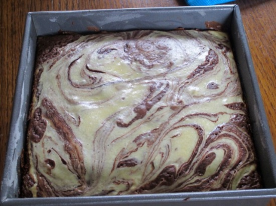 Cheesecake Brownies myfavouritepastime.com