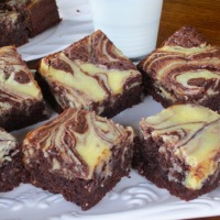Rachel Allen's Cheesecake Brownies