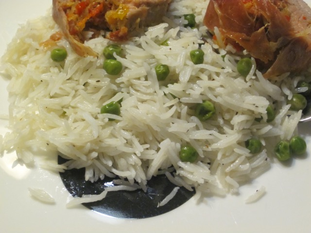 Basmati Rice with Coconut and Peas myfavouritepastime.com