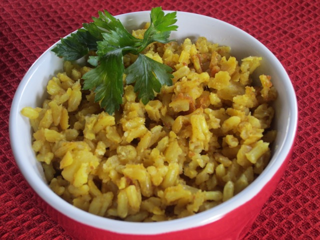 Brown Rice with Toor Dal myfavouritepastime.com
