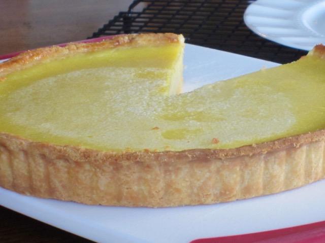 Lemon Tart myfavouritepastime.com