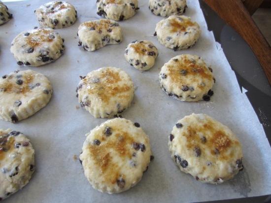 Martha Stewart's Cream Scones myfavouritepastime.com