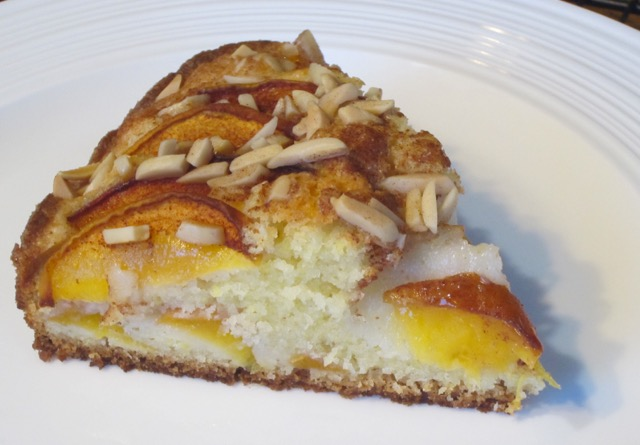 Peach and Almond Cake myfavouritepastime.com