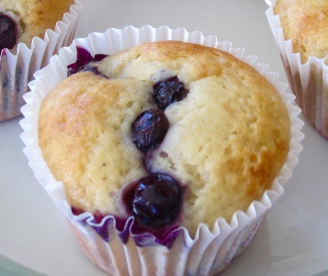 Blueberry Banana & Vanilla Muffins myfavouritepastime.com