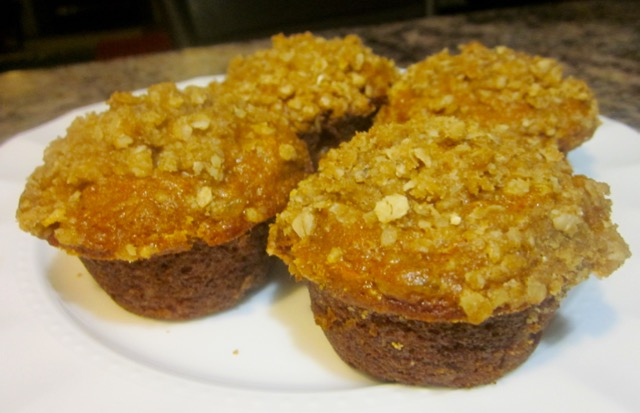 Carrot Walnut Muffins with Streusel Topping myfavouritepastime.com
