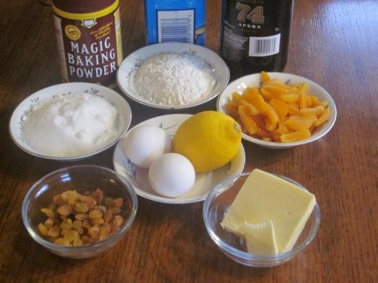 Lemon and Apricot Pudding myfavouritepastime.com