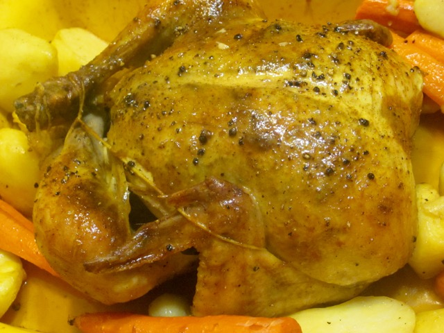 Roast Chicken with Cumin and Coriander myfavouritepastime.com