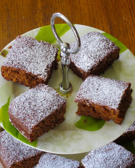 Gingerbread Squares myfavouritepastime.com