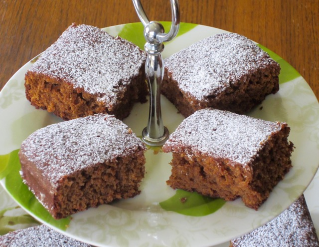 Gingerbread Squares   My Favourite Pastime