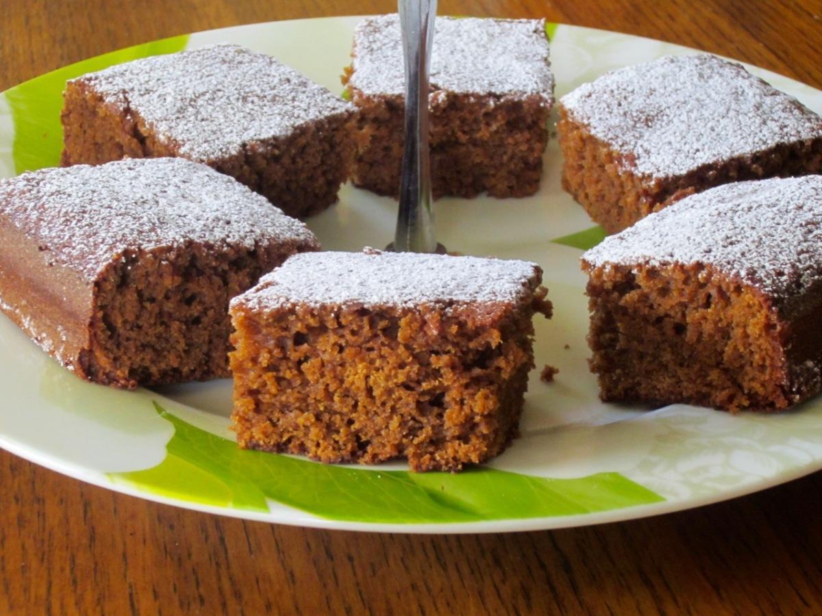 Gingerbread Squares Recipe — Dishmaps