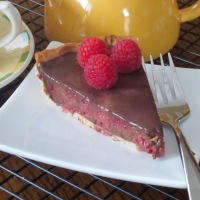 Michel Roux's Chocolate and Raspberry Tart