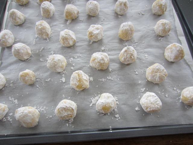 Easy Lime Crinkle Cookies myfavouritepastime.com
