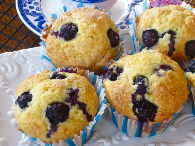 Lime Blueberry Muffins My Favourite Pastime