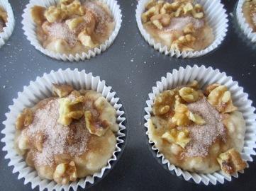Cinnamon Banana Walnut Muffins myfavouritepastime.com