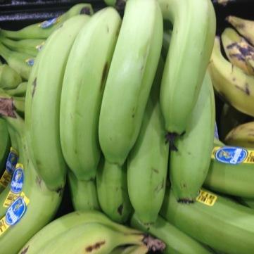Green Bananas from Honduras myfavouritepastime.com