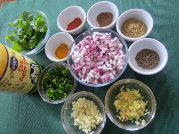Whole Green Gram Soup (Sabut Mung Dal) myfavouritepastime.com