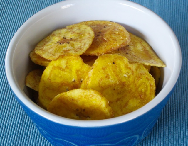 Plantain Chips myfavouritepastime.com