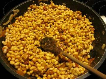 Chorizo Flavoured Navy Bean Soup myfavouritepastime.com