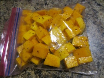 Marinate squash at least 30 minutes myfavouritepastime.com